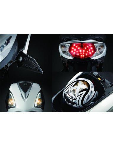 Portamatrícula Honda PCX 125 2013